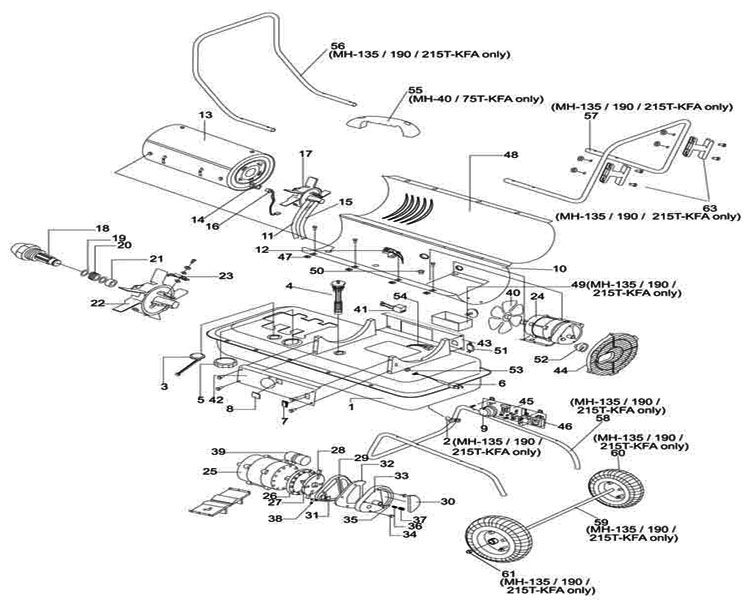 cap parts diagram